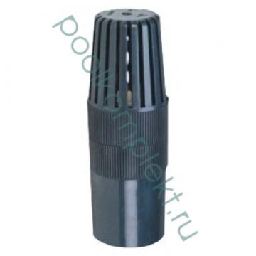 Кран шаровый ПВХ 0.6-1.6 МПа