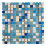 Мозаика стеклянная Aquaviva Bahama светлая B2311N