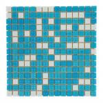 Мозаика стеклянная Aquaviva Bahama светлая вариант 2