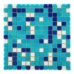 Мозаика стеклянная Aquaviva Bahama темная