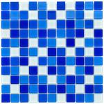 Мозаика стеклянная Aquaviva Сristall Bagama темная DCM303