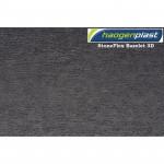 Плёнка ПВХ Haogenplast StoneFlex Bazelet-3D (брутально-чёрный-3D) 1.65 x 25 м