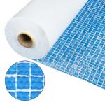 Плёнка ПВХ Cefil Gres (мозаика голубая) противоскользящая 1.65x20 м