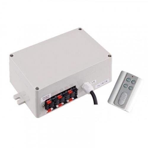 Панель управления LED со встроен. трансформ. Pool King 150 Вт 12В и пультами YAQ-04